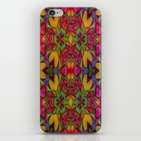 escher iPhone & iPod Skins featuring Escher Tile by RingWaveArt