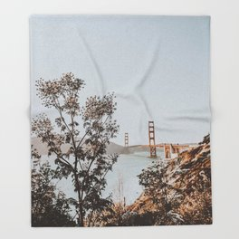 san francisco, california Throw Blanket