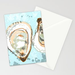 New York Oysters Stationery Cards
