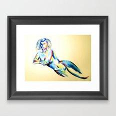 Colorburst Framed Art Print