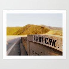 Bixby Crk. Art Print