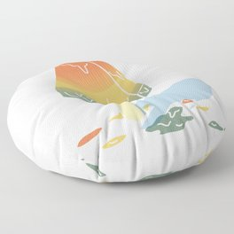 A Cold Treat Floor Pillow