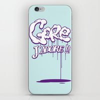 gore iPhone & iPod Skins featuring Gore j'adore by Iksoner