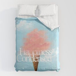Happiness Condensed Comforters