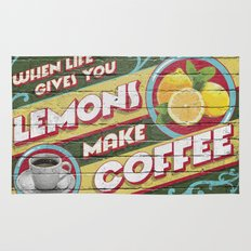 Coffee Lemonade Rug