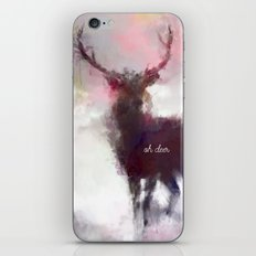 Oh deer iPhone & iPod Skin