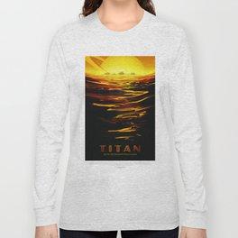 Old Sign NASA / Titan Long Sleeve T-shirt