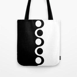 Black and White Mod Tote Bag