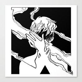 Smoke 15 Canvas Print