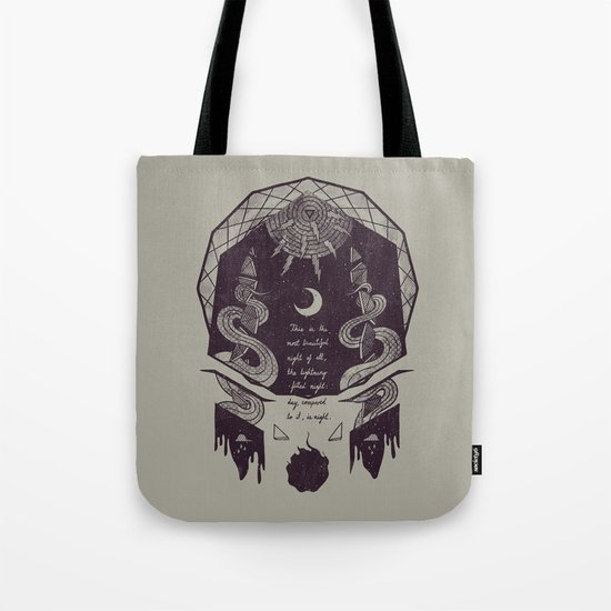 The Lightning-Filled Night Tote Bag