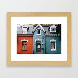 Le Plateau Mont Royal - Montreal, Canada - #14 Framed Art Print