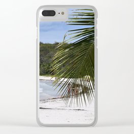 tropics Clear iPhone Case
