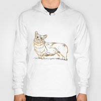 corgi Hoodies featuring Corgi!!!! by katieWalkerDesigns