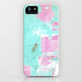 pinktürkis iPhone Case