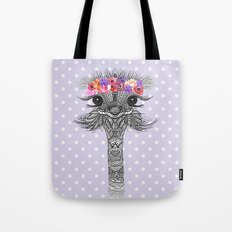 OSTRICH - FLOWER GIRL II Tote Bag