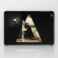 bastille iPad Cases featuring Bastille - Skulls by Thafrayer