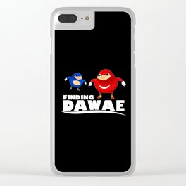 da way Clear iPhone Case