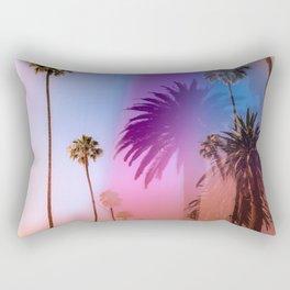 Sunshine and Palm Trees Rectangular Pillow