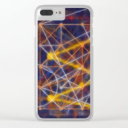 entangled Clear iPhone Case