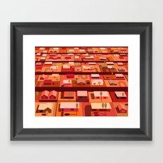 Downtown Desert Framed Art Print
