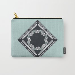 Hiking Trails-Strong as Nails Carry-All Pouch