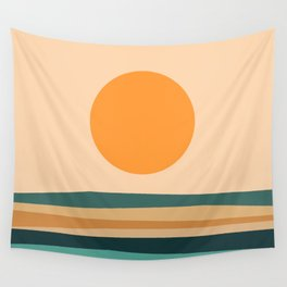 Abstract Landscape 10B Wall Tapestry