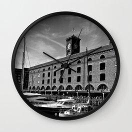St Katherine's Dock London  Wall Clock