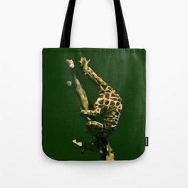 Giraffe In The Tree ?! Tote Bag
