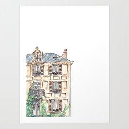 Roughly, France.  Art Print