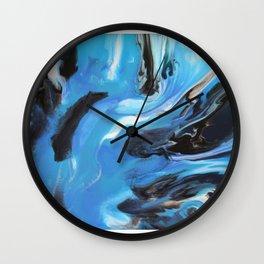 Blue Oasis Wall Clock