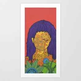 Ukrainian Flowers Art Print