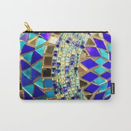 mosaic and beads [photograph] Carry-All Pouch