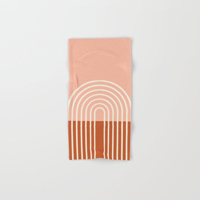 Terracota Pastel Hand & Bath Towel
