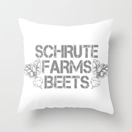 SCHRUTE FARMS BEETS Throw Pillow