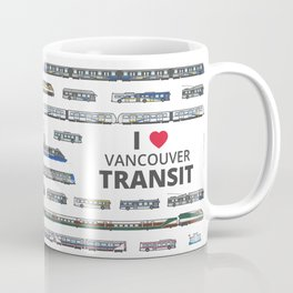 The Transit of Greater Vancouver Coffee Mug