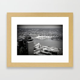 Cincinnati - Downtown #1 Framed Art Print