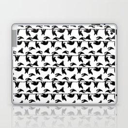sloths pattern bw Laptop & iPad Skin