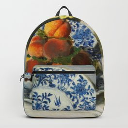 Still Life (1872) by Claude Monet Backpack