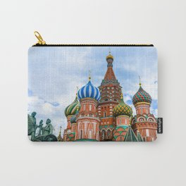 Saint Basil's Cathedral (Red Square in Moscow) Carry-All Pouch