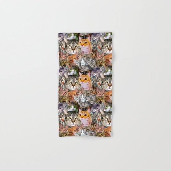 CATS!  Hand & Bath Towel
