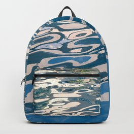 Reflections From My Sacred Pond of Peace Backpack