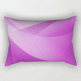 Purple Wallpaper Rectangular Pillow