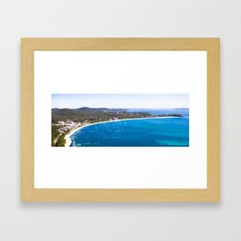 Shoal Bay, NSW, Australia Framed Art Print