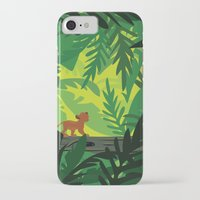 simba iPhone & iPod Cases featuring Lion King - Simba Pattern by Cina Catteau