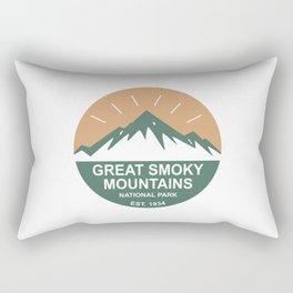 Great Smoky Mountains National Park Rectangular Pillow