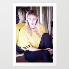 Sneaker Fetishist & G4life - The Vicious Miss Beth Dolby Art Print