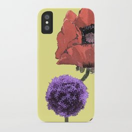Floral fantasies iPhone Case
