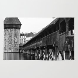 The Chapel Bridge Monochrome Rug