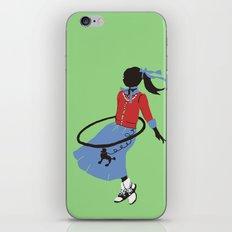 Poodle Skirts, Bobby Socks and Hoola Hoops iPhone & iPod Skin