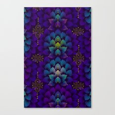 Variations on A Feather IV - Stars Aligned Canvas Print